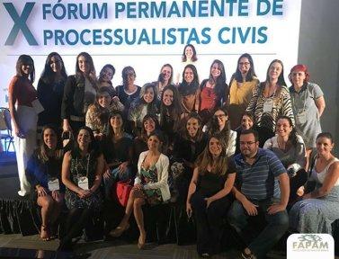 PROFESSORA DO CURSO DE DIREITO PARTICIPA DE FÓRUM COM PROCESSUALISTAS DE RENOME NACIONAL